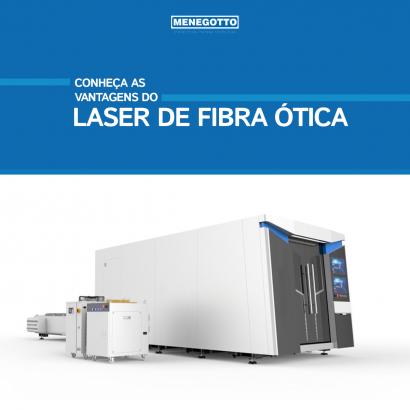 Conheça as vantagens do laser de fibra ótica