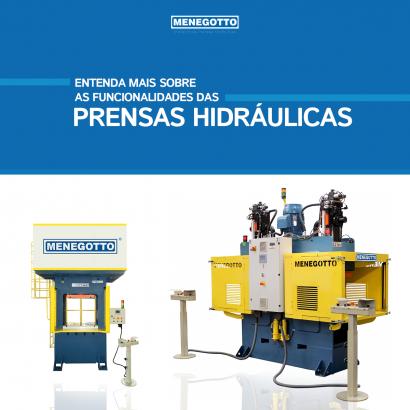 Entenda mais sobre as funcionalidades das prensas hidráulicas